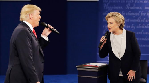 Donald Trump challenges Hilary Clinton to a drugs test before next debate