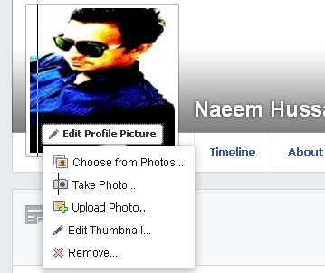 Facebook Profile Photo changing