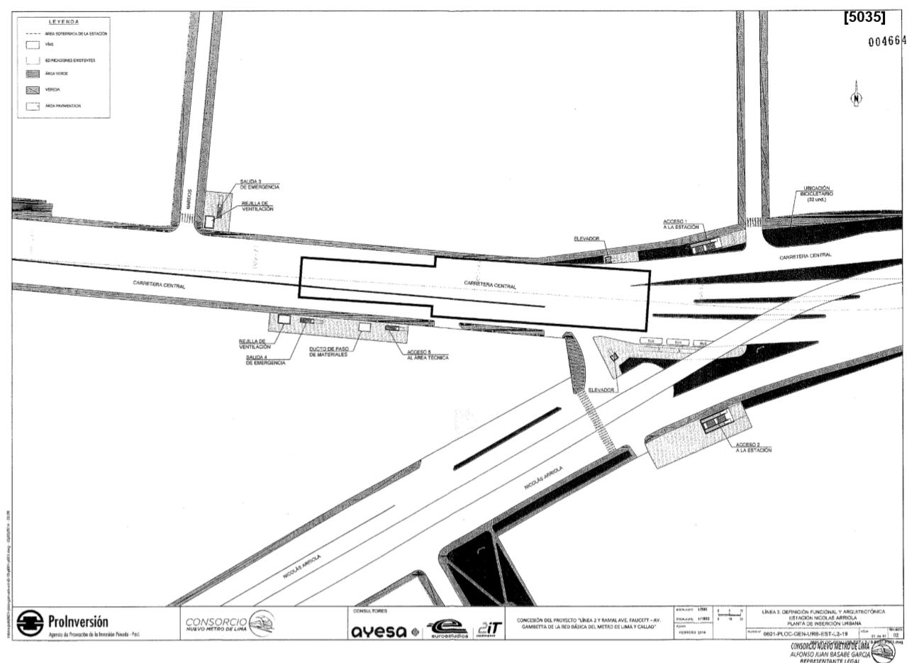 Desarrollo Peruano Metro Linea 2 Ubicacion De Estaciones