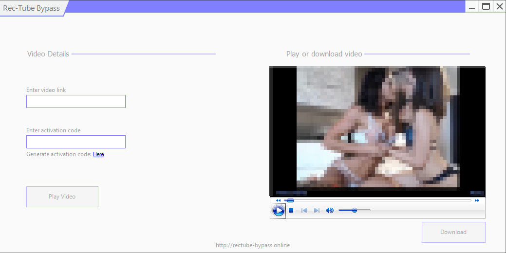 Rectube download from