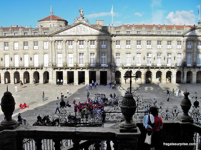 Caminho de Santiago, Praça do Obradoiro e Paço do Raxoi, Santiago de Compostela