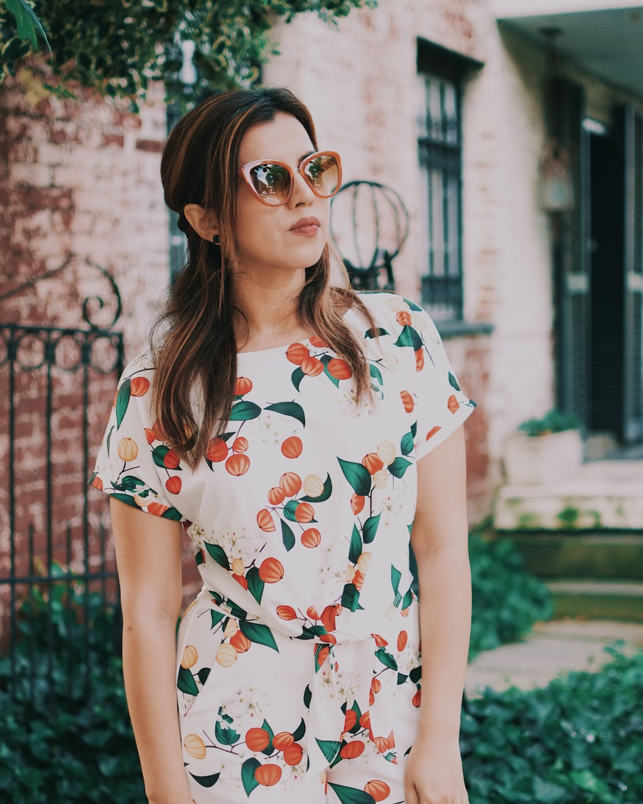 Botanical Print - mariestilo-shein-lookoftheday-dcblogger-travelblogger-blog de viajes-travel-itgirl-fashionista-moda-tendencias-influencer-fashion-