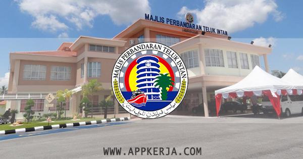 Jawatan Kosong Terkini di Majlis Perbandaran Teluk Intan (MPTI) - 7 Jun 2018