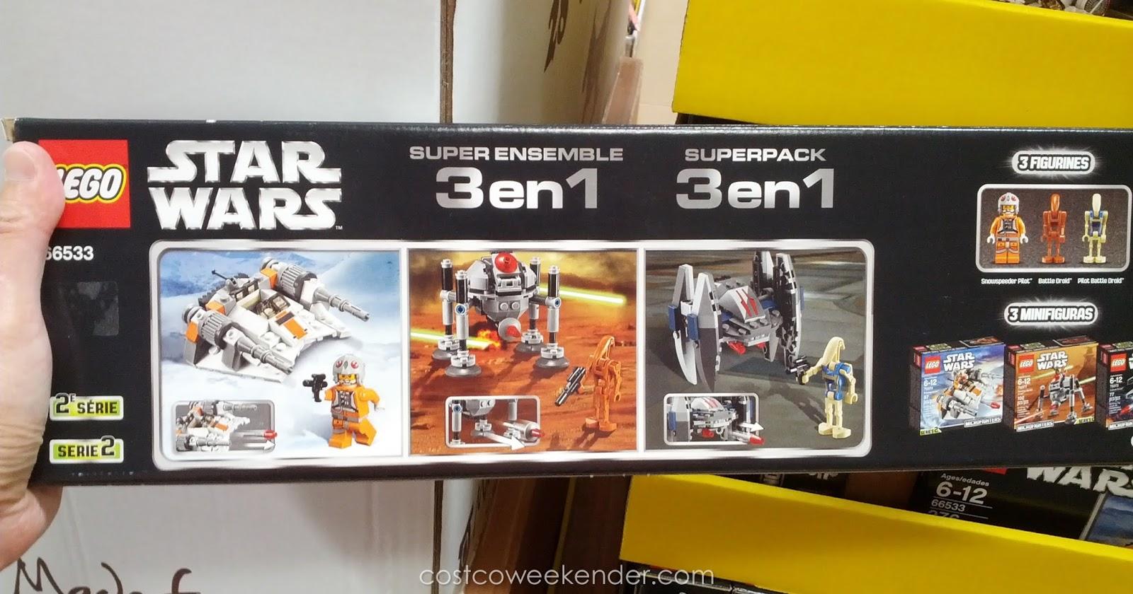 Lego Star Wars Collector 3 In 1 Pack Costco Weekender