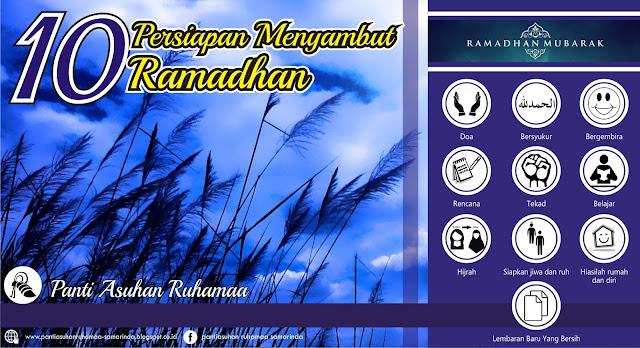 10 Persiapan Menyambut Ramadhan