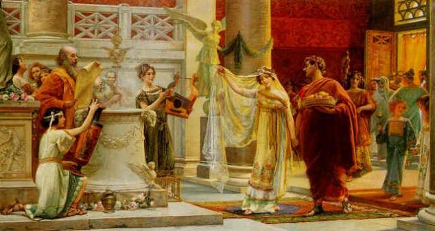 Matrimonio En El Imperio Romano : Derecho de familia en derecho romano iii : el matrimonio y sus
