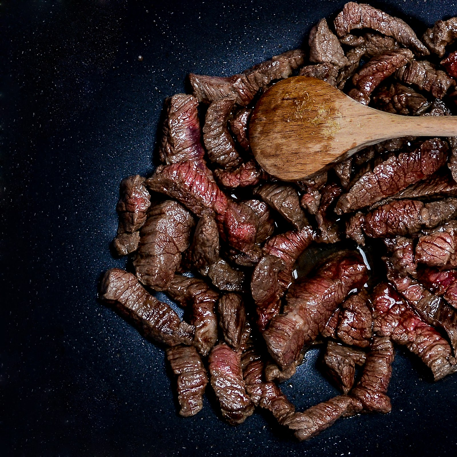 Wołowina stir fry