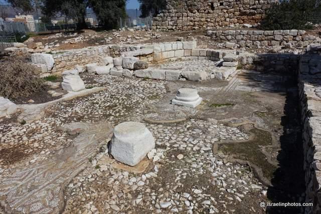 Karmiel, Hurvat Kav (Byzantine monastery)