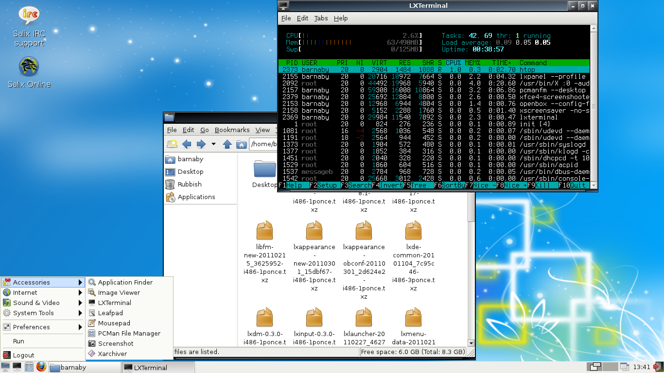 Linux, BSD, and everything else   : Installing LXDE on