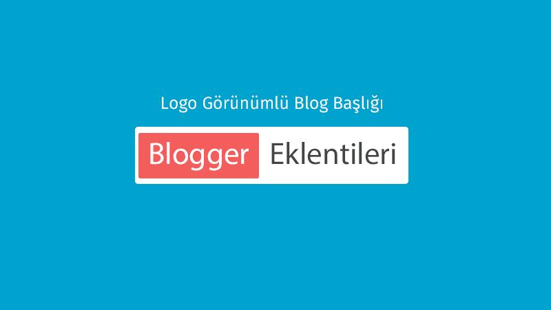 Logo Görünümlü Blog Başlığı