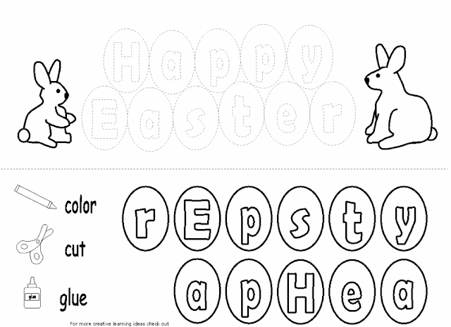 Yummy English for Children: Easter Worksheets
