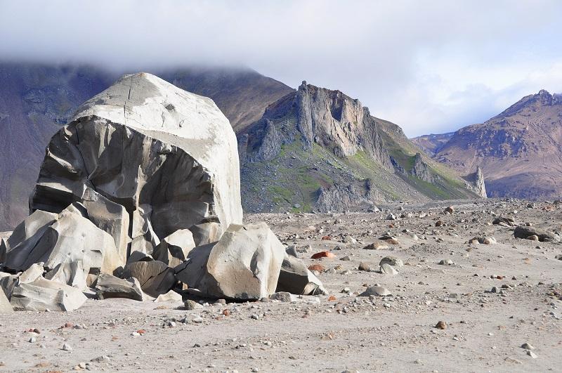 пейзажи вулкан шивелуч камчатка