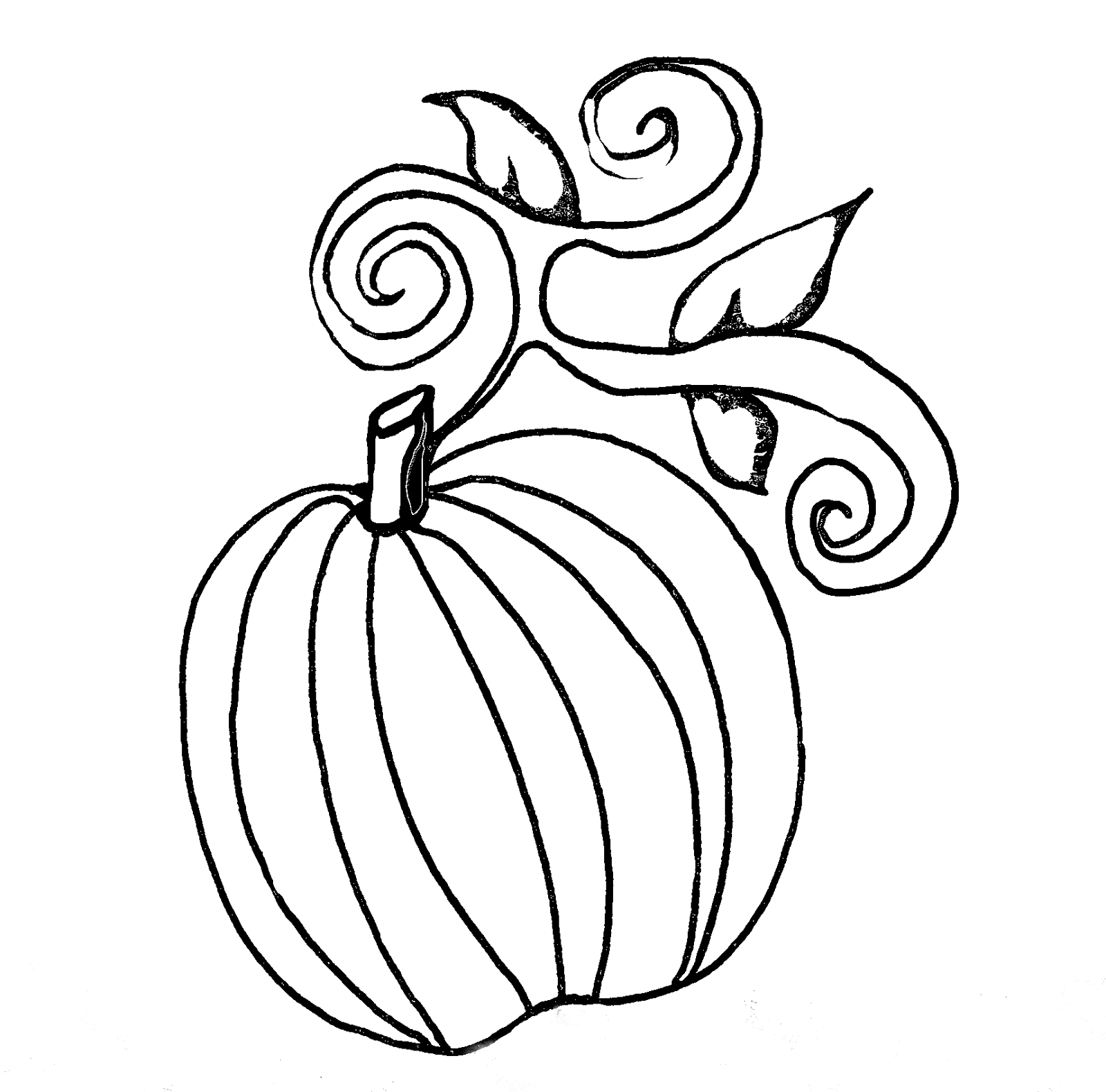 Treasure Box Drawing And Art For Jesus: Home Drawn Pumpkins