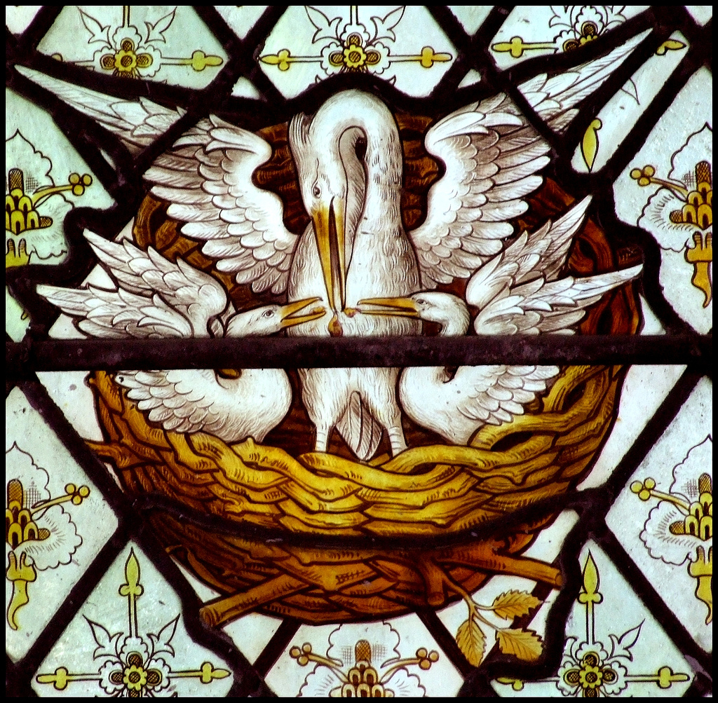 The Art Curmudgeon An Odd Duck In Christian Symbolism