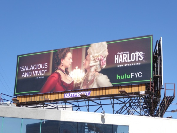 Harlots 2017 Emmy billboard