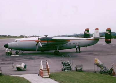 Imagen del modelo del avión, Airspeed Ambassador, que se estrelló en la tragedia de MúnichAdrian Pingstone