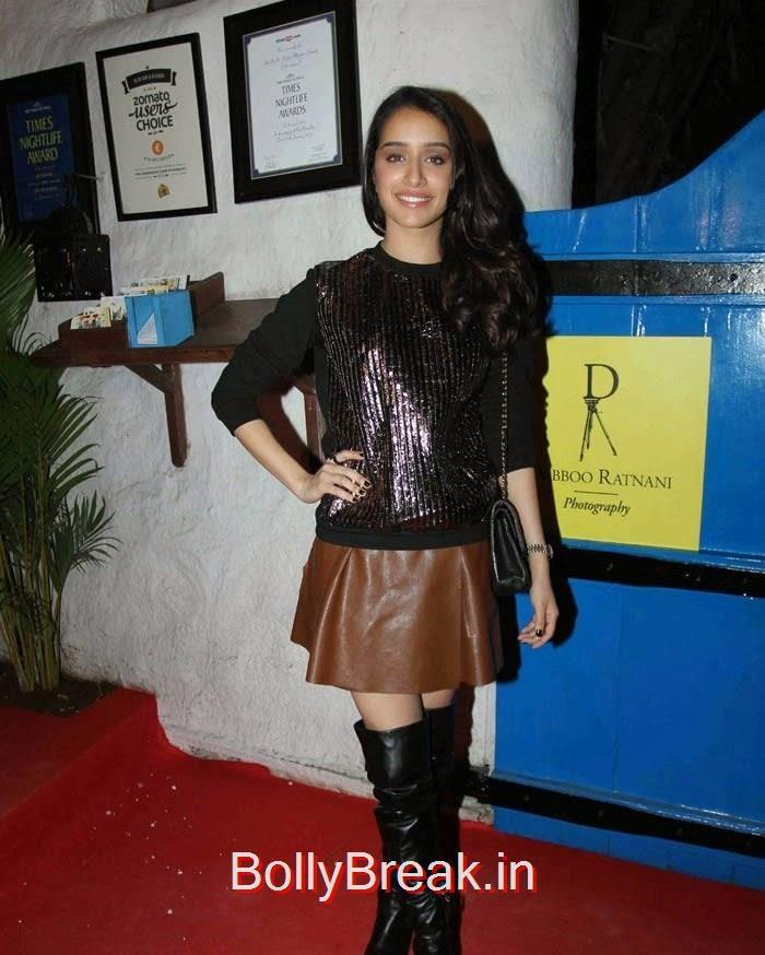 Shraddha Kapoor, Jacqueline Fernandez, Elli Avram, Shraddha Kapoor at Daboo Ratnani 2015 Calendar Launch