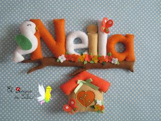nombre-fieltro-felt-feltro-Neila-decoración-infantil-regalo-personalizado-name-banner-babyroom-elbosquedelulu-hechoamanoparati