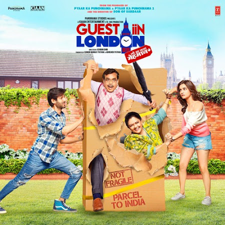 Guest Iin London (2017) Movie Poster