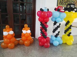 dekorasi balon standing