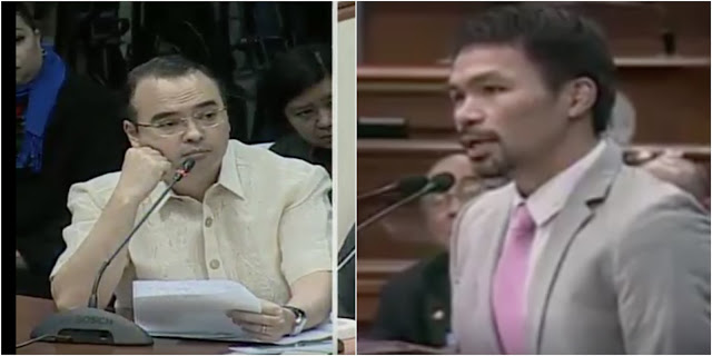 Senators Pacquiao, Cayetano Moves To Stop EJK Hearing: 'There is No Reason to Continue This Committee Meeting Tomorrow.'