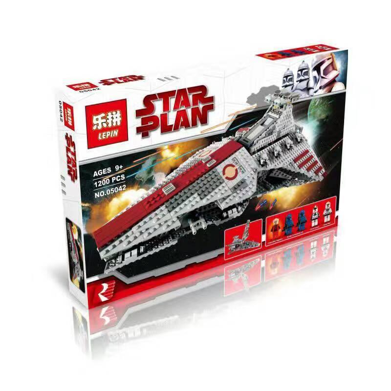 downtheblocks: Lepin 05077: Star Wars Venator-class Republic Attack ...