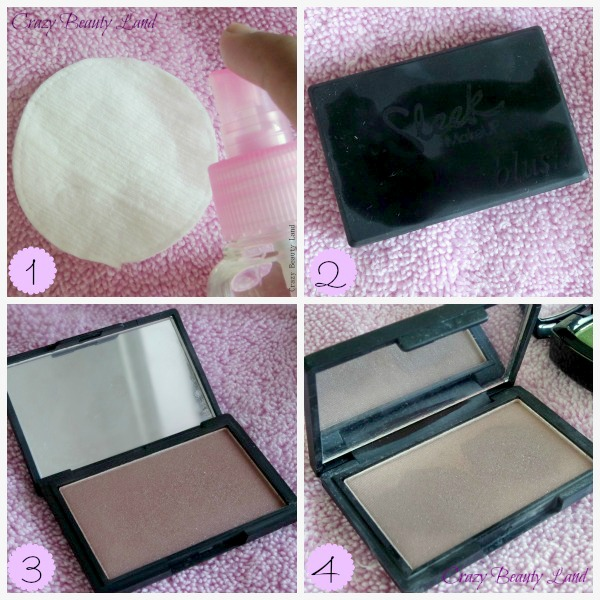 How To Sanitize Your Makeup - Powder and Cream products