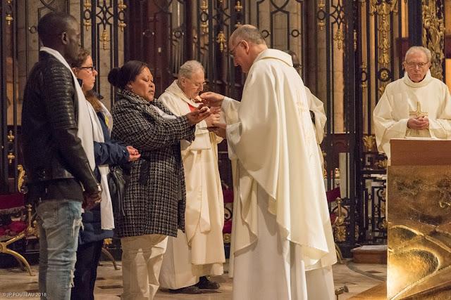 catéchuménat Sens Paron St Clément Yonne Veillée Pascale 2018 Baptême Confirmation Eucharistie