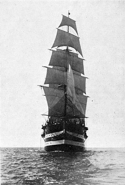 Cristoforo Colombo sailing ship