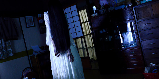 sadako vs kayako, ju on vs the ring, the grudge vs the ring, the ring, the grudge, sadako vs kayako movie, scariest crossover, scary Japanese movie, scary, scary Japanese film, Japanese evil spirit movie