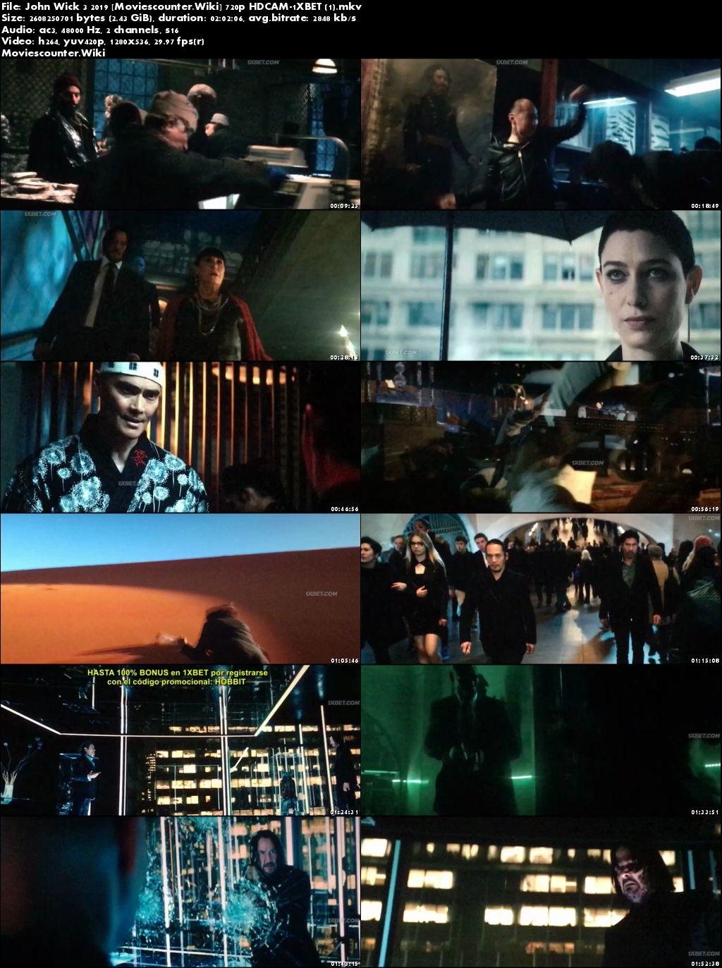 Screen Shots John Wick: Chapter 3 - Parabellum 2019 English HD 720p
