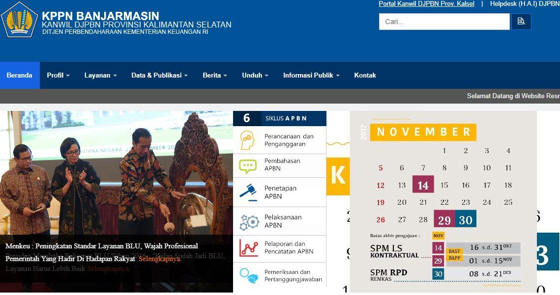 Alamat Lengkap Kantor KPPN Di Kalimantan Selatan