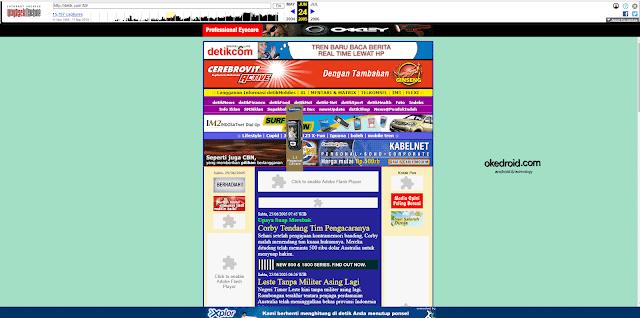 detik.com tampilan situs web jadul jaman dulu di tahun 2005 Wayback Machine