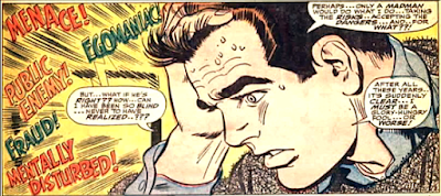 Amazing Spider-Man #50, john romita, his head filled with voices, Peter Parker starts to doubt his sanity