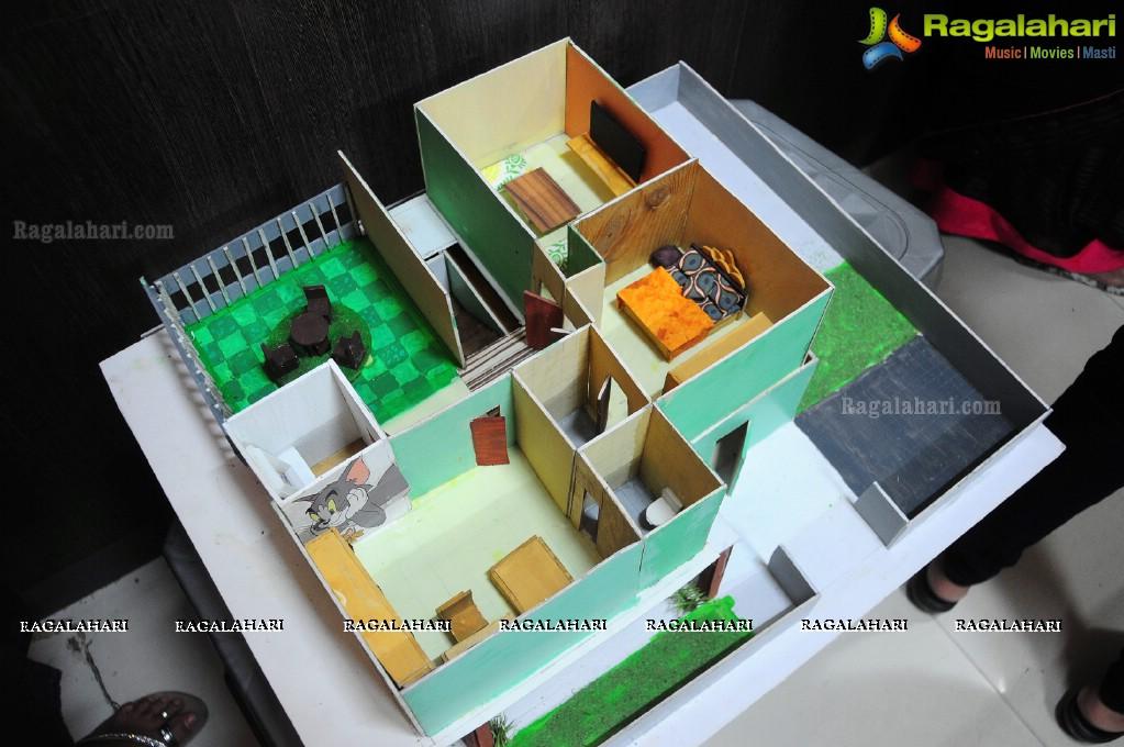 Best Interior Designing Model Exhibition By Idi Himayatnagar