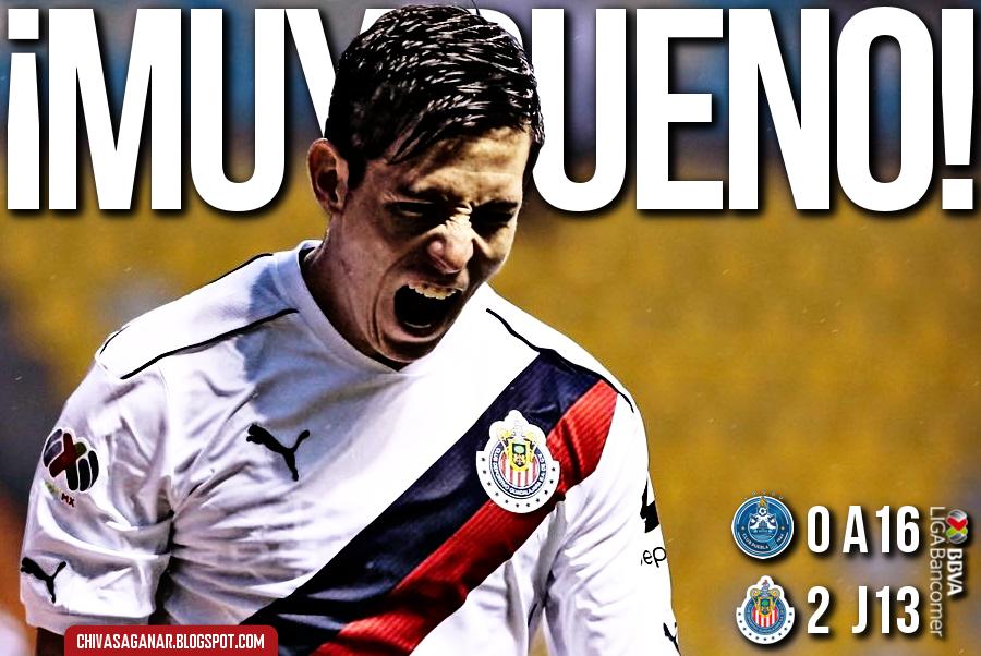 Liga MX : Puebla FC 0-2 CD Guadalajara - Apertura 2016 - Jornada 13.