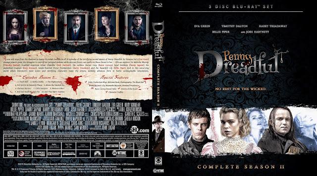 Capa Bluray Penny Dreadful Segunda Temporada Completa