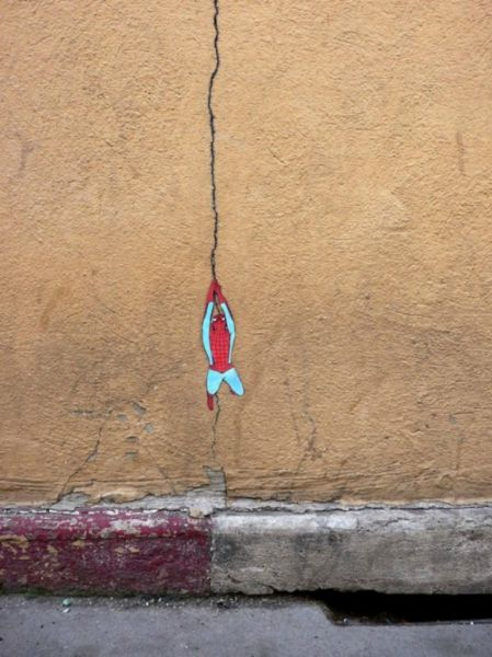 الفن بأى شىء وعلى أى شىء street-art-work-33.j