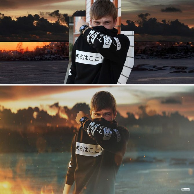 Photoshop: Fotógrafo ruso maneja excelente herramienta de adobe