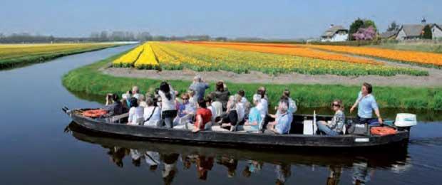 Wisata Bunga di Amsterdam - Pesona Kota di Atas Air