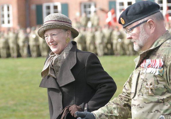 Crown Princess Mary has just been appointed captain of the Home Guard at the 70th anniversary at Nymindegab