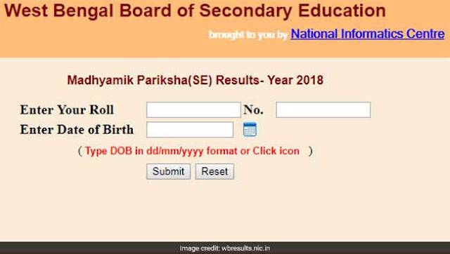 West Bengal Board of Secondary Education (WBBSE) Class 10 Reults 2018 DECLARED