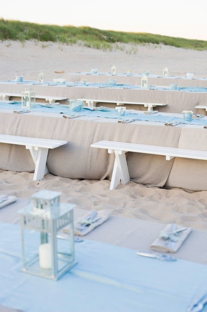 Idyllic Tables and Weddings on The Beach 2