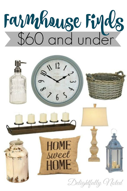 Great Farmhouse Finds for Under $60!