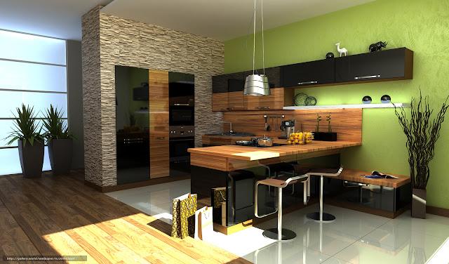 tủ bếp thời đại mới - mẫu số 3