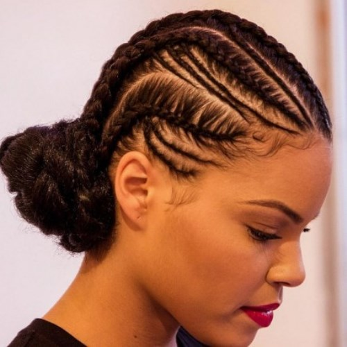 Cute Cornrow Braided Hairstyles For Black Women