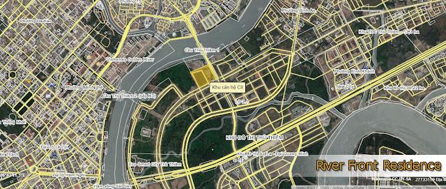 Vị trí Căn Hộ Riverfront Residence