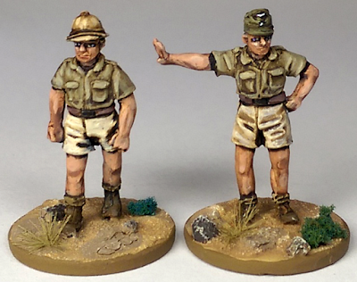 Perry Miniatures Luftwaffe ground crew