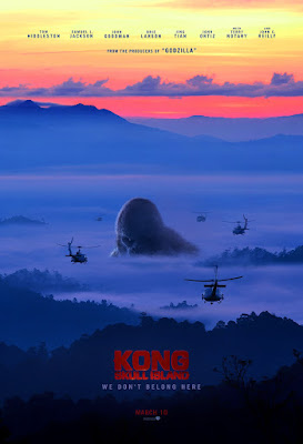Kong Skull Island New Movie Poster 2