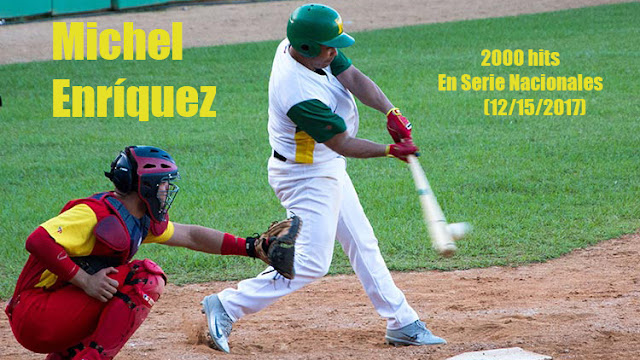 El hit 2000 del pinero fue en su cuarta vez al bate, a las 4:56 p.m, vistiendo la franela de los Vegueros, en cuenta de dos bolas sin strikes y frente al lanzador Yanier Blanco Portal